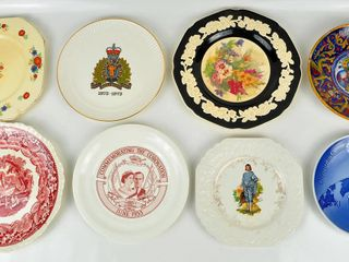 8 Plates with Montreal Olympics