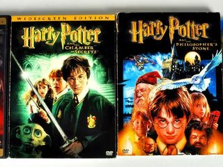 DVDs with The Hobbit   Harry Potter