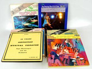 Stack of Vintage Vinyl lP Records  Non Rock