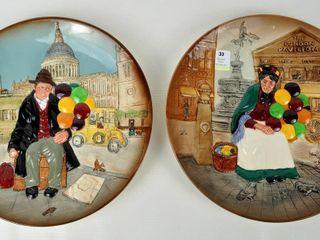 2 Royal Doulton Collector Plates