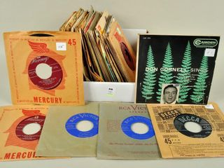 Assorted 45 RPM Records