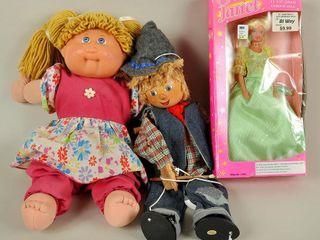 Assorted Dolls   Marionette lot