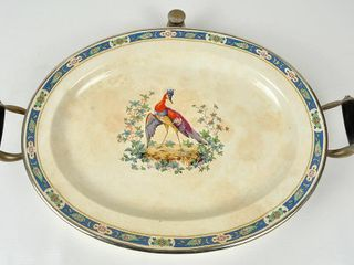 Victorian Silver Plate Warming Plate