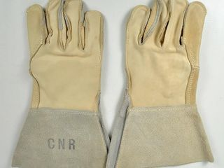 Canadian National Railway leather Gloves