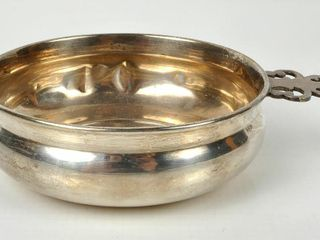 Birks Sterling Silver Cup with Handle