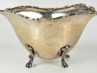 Ryrie Sterling Silver Footed Bowl