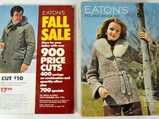 2 Eaton s Catalogues 1970s