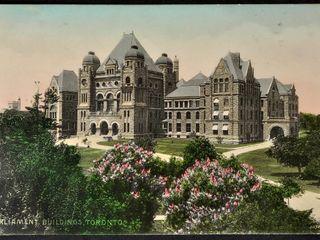 Antique Postcard Parliament Buildings Toronto