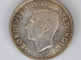 Canadian Coin 1939 Silver Dollar