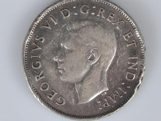 Canadian Coin 1941 50 Cent Piece