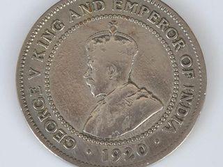 1920 Jamaica One Penny Coin