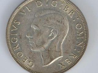 1945 Great Britain Half Crown Coin