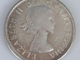 Canadian Coin 1962 50 Cent Piece