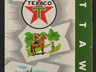 1960 Texaco Ottawa Road Map