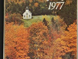 1977 Nova Scotia Road Map
