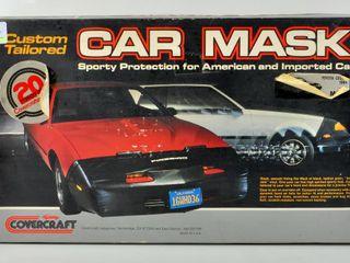 Vintage Custom Tailored Car mask Toyota 1984