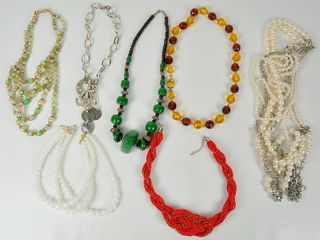 lot of Costume Jewelry Most wearable