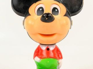 Talking Mickey Mouseketeer Plastic Toy