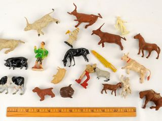 Vintage Toy Farm Animals