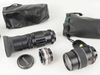 2 Thread Mount Camera lenses