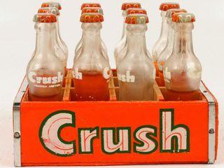 Miniature Bottles of Orange Crush