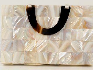 Unique Mother of Pearl Handbag