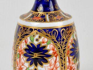 Miniature Imari Royal Crown Derby Vase