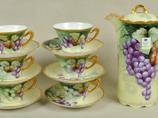 Bavarian Cocoa Coffee Pot   Cups