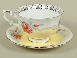 Royal Albert  Moonglow  Cup   Saucer