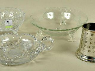 Glass Crystal Mug