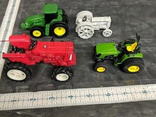 Lot of diecast tractors John Deere and more