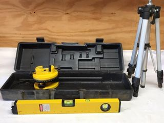 Rotary leveler With Tripod   Case