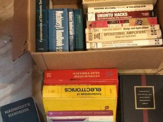 Electronics and Machinist Books