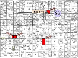 673 Acres Ness County Land