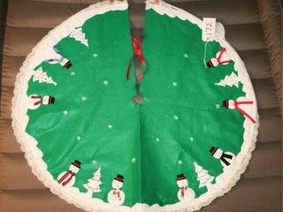 Tree skirt  handmade