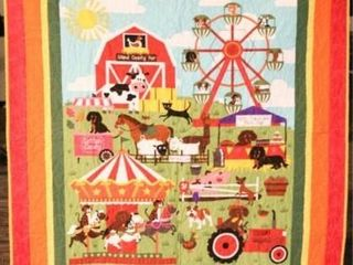 Island County Fair  machine quilted