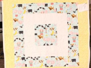 Nursery Rhyme  machine quilted