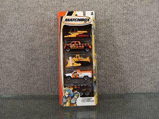 NIB Matchbox 5 Pack Set Asst  C1817   H3383 0718