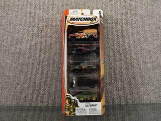 NIB Matchbox 5 Pack Set Asst  C1817   H4115 0718