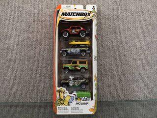 NIB Matchbox 5 Pack Set Asst  C1818   H3385 0718