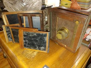 lot of 6 Vintage Early 1900 s Camera Pieces