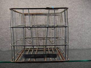 Vintage Bordens Steel Gallon Milk Grate   12  x 13