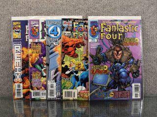 lot of 6 Marvel Comics  Fantastic Four  1961 1st Series   403  Fantastic Four  1998 3rd Series   21   51  Ultimate Fantastic Four  2004   9 and More