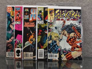 lot of 5 Marvel   DC Comics  Ghost Rider  1990 2nd Series   78  Conan the Barbarian  1970   191  Warlord  1976 1st Series   115 and More