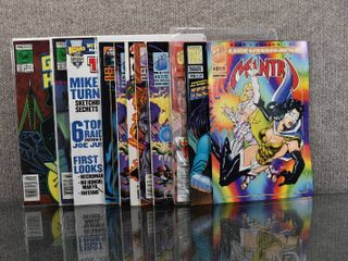 lot of 11 Malibu   Now Comics  Mantra  1993 1st Series   1  Polybagged    3  Ultraforce Avengers  1995  Prelude  1  Green Hornet  1989   11   12 and More