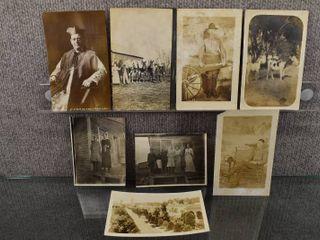 lot of 8 Vintage Picture Postcards