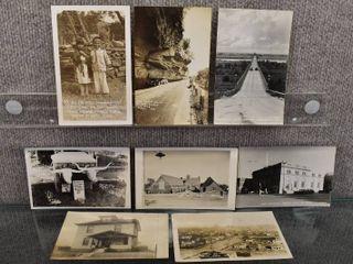 lot of 8 Vintage Picture Postcards Kansas  S Dakota  Missouri   Places   Things