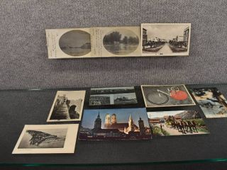 lot of 10 Vintage Postcards from Foreign Countries   1904  1943