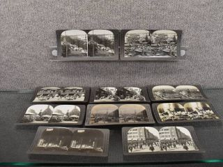 lot of 10 Vintage Stereograph Cards   Keystone View Company