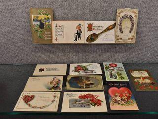 lot of 14 Vintage Various Greetings Postcards   1922  1911  1913